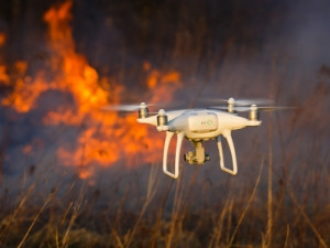 Drones improve the effectiveness of firefighting efforts and reduce the risk to human life.