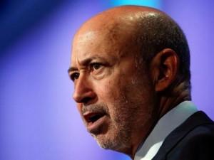 Goldman Sachs Group chairman and CEO Lloyd Blankfein.