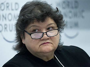 Public enterprises minister Lynne Brown. (Photo source: WEF)
