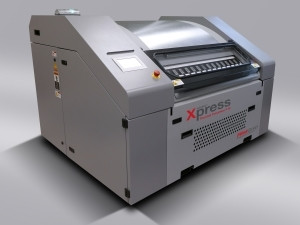 The Flint nyloflex Xpress Thermal Processing System incorporates the speed of thermal plate making with impressive plate and print quality.