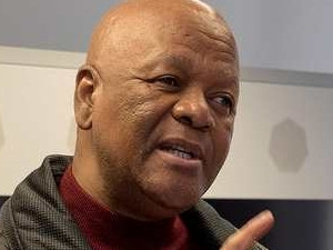 ] Minister and chairperson of the National Planning Commission Jeff Radebe. (Photo source: GCIS)