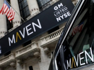 Maven is GM's car-sharing operation.