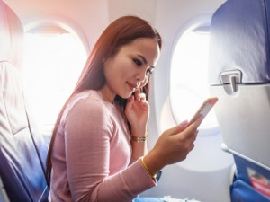 In-flight wireless streaming is increasingly being offered as an entertainment option.