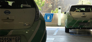 Nissan dealerships have fast charging stations that recharge cars to 100% within 20 minutes.