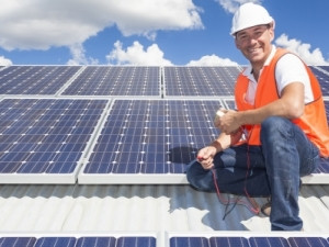 The NIH fund invests in a portfolio of commercial rooftop solar energy projects.
