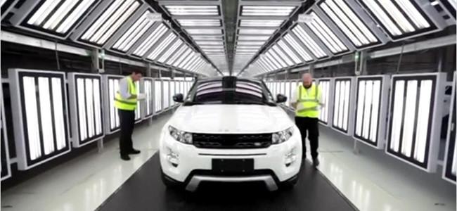 Jaguar Land Rover's I-PACE concept car.
