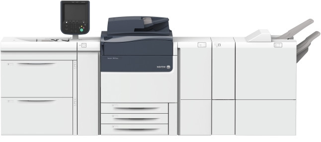 The all new Xerox Versant 180 Press prints at 80ppm on stocks and specialty media from 52-350gsm.