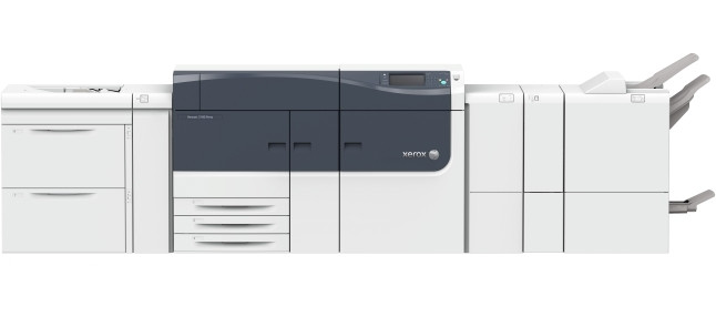 The all new Xerox Versant 3100 Press prints at 100ppm on stocks and specialty media from 52-350gsm.