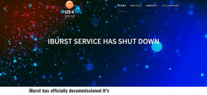 iBurst officially decommissioned its services at midnight on 31 August.