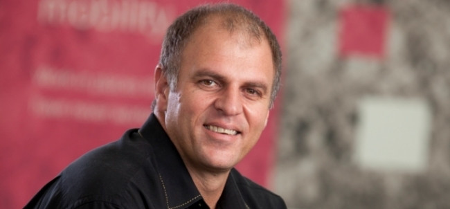Gert Schoonbee, MD of T-Systems SA.