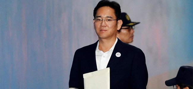 Samsung Electronics vice-chairman Jay Y Lee.