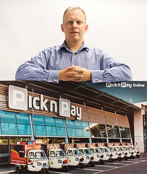 Mike Cotterell, head of online shopping at Pick n Pay.