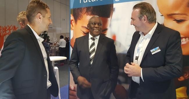 Telecoms and postal services minister Siyabonga Cwele.