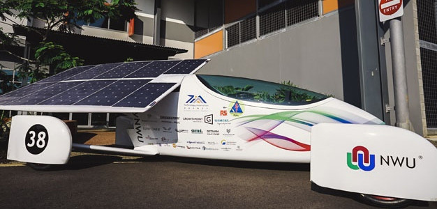 NWU's Faculty of Engineering in August launched Naledi, the 2017 iteration of the solar car.