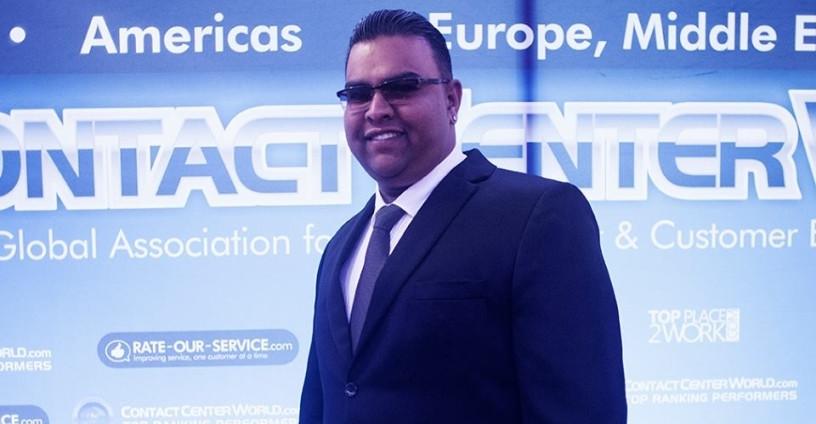 Sunjveer Panday, Sales Manager.