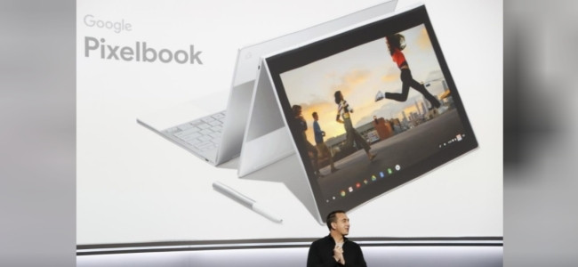 The Pixelbook is a laptop/tablet hybrid.