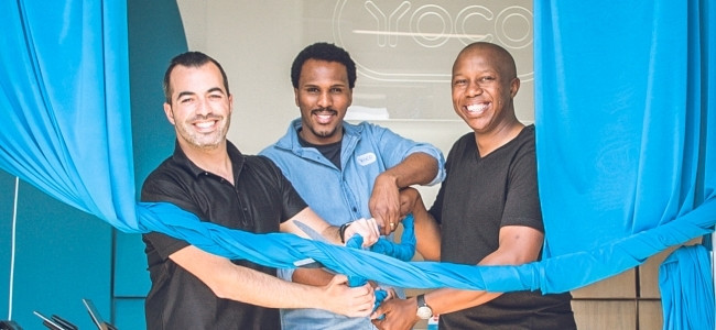 The new Yoco retail store in Parkhurst.