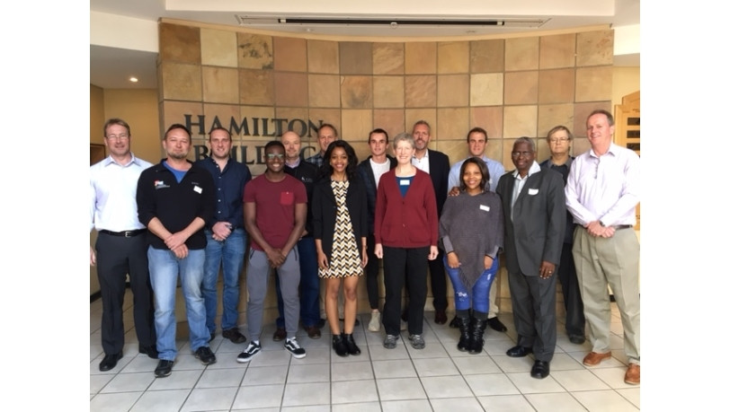 Industry Advisory Board members, Rhodes University student class representatives and Information Science (IS) Department staff.