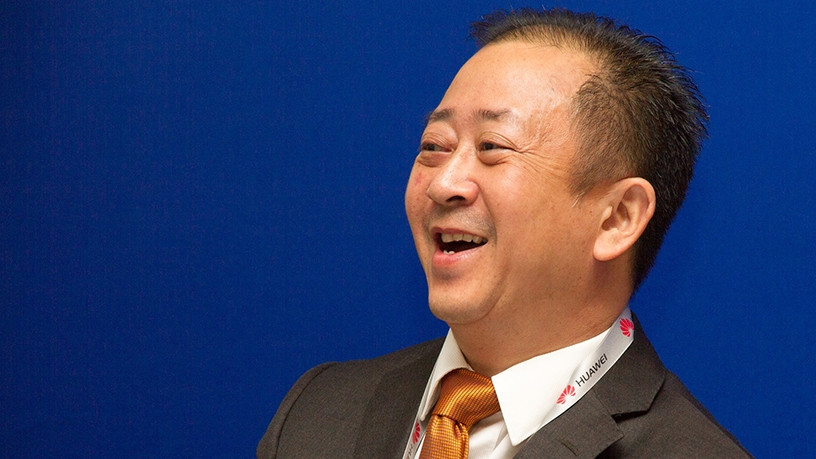 Joe So, CTO of industry solutions, marketing and solution sales department, enterprise business group for Huawei.
