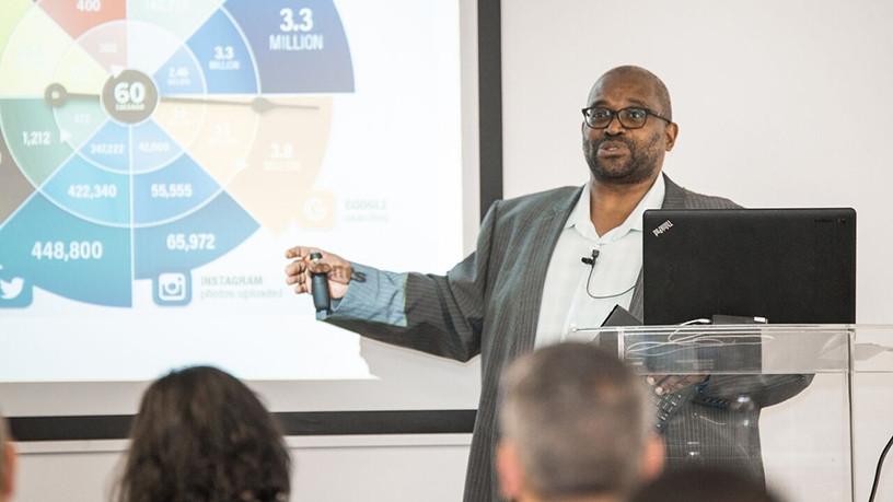 Mojapela Makau, executive of strategic projects at Tracker.