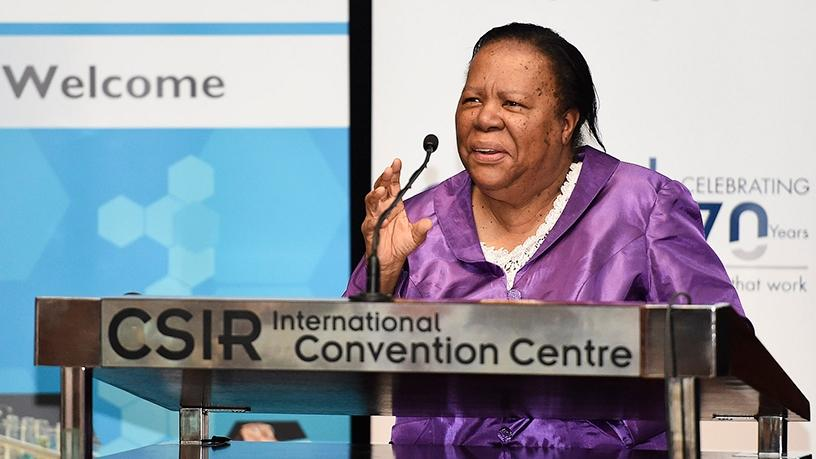Minister Naledi Pandor will now head up the Department of Higher Education and Training.