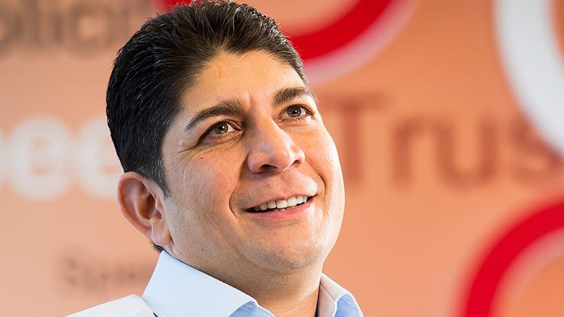 Shameel Joosub, CEO of the Vodacom group.