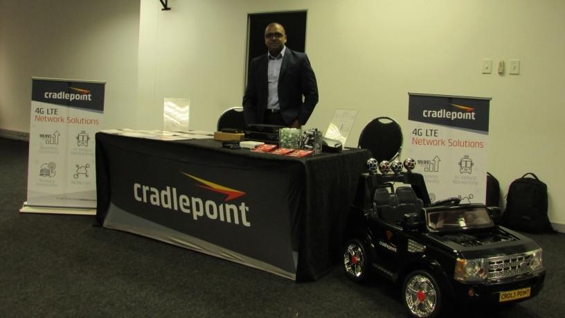 Sugan Ganasen, Cradlepoint Lead Ingram Micro Southern Africa.