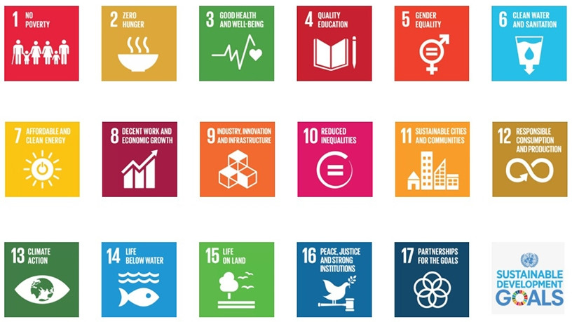 The United Nations Sustainable Development Goals.