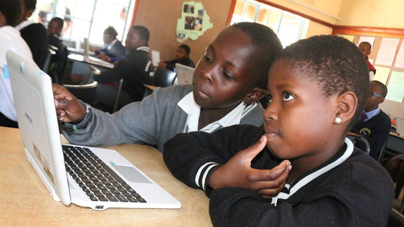 Africa Code Week 2017 trained 116 800 youth from Southern Africa. (Image courtesy of SAP)