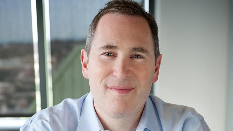Amazon Web Services CEO Andy Jassy.