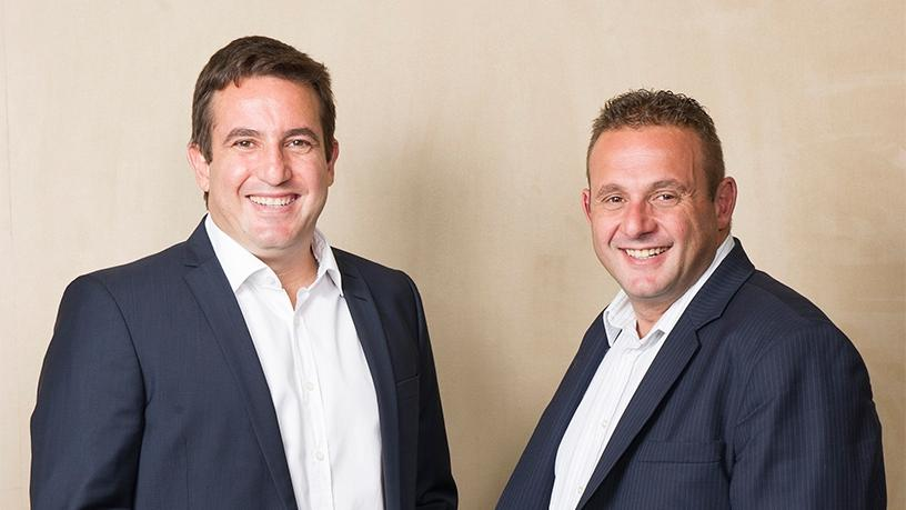 Blue Label Telecoms joint-CEOs Mark Levy and Brett Levy.