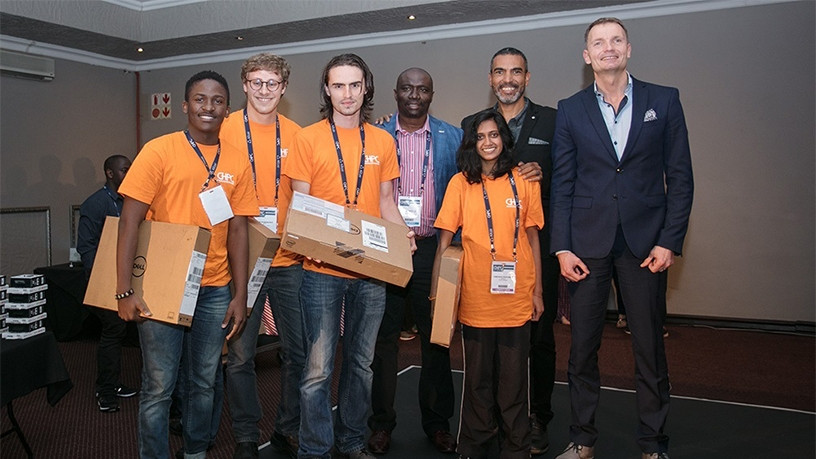 The students came first at a national competition, which took place during the annual Centre for High Performance Computing Conference in Pretoria last week.