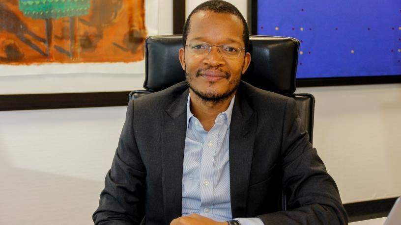 MTN SA CEO Godfrey Motsa.