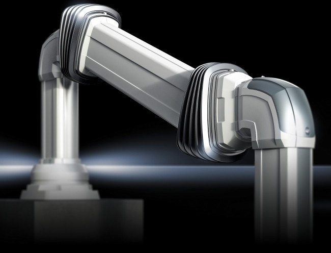 The height-adjustable support section for the Rittal CP range provides optimised machine ergonomics.