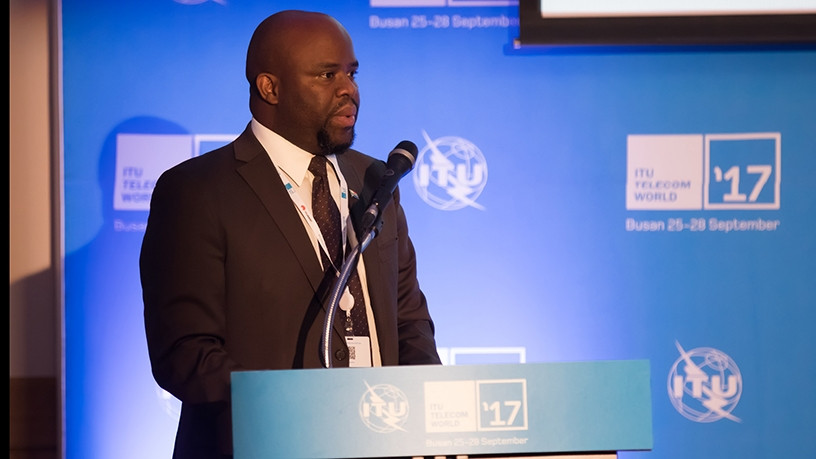 DTPS director-general Robert Nkuna [Photo source: ITU]
