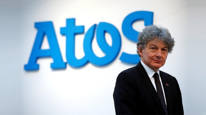 Atos chairman and CEO Thierry Breton.