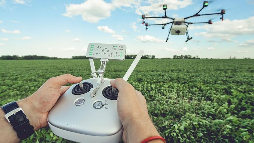 Cape Town-based Aerobotics uses drones to count trees in orchards.