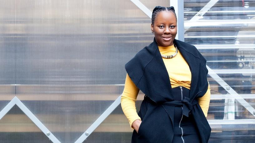 Zandile Keebine, founder of GirlCode.