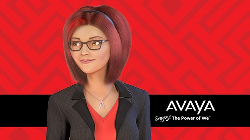 Avaya's Ava digital AI-enabled personal assistant.