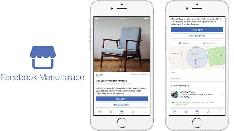 Facebook Marketplace will begin to roll out in SA today.