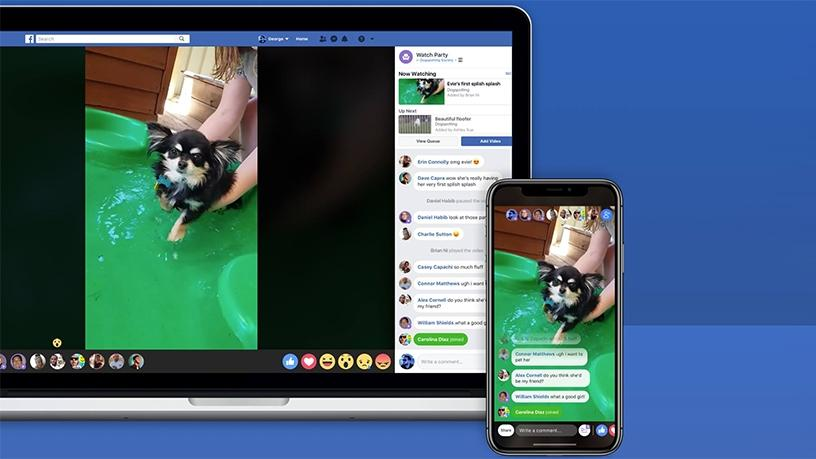 Facebook's 'Watch Party' Lets Users Watch Videos Together