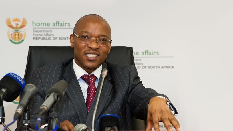 Department of Home Affairs DG Mkuseli Apleni.