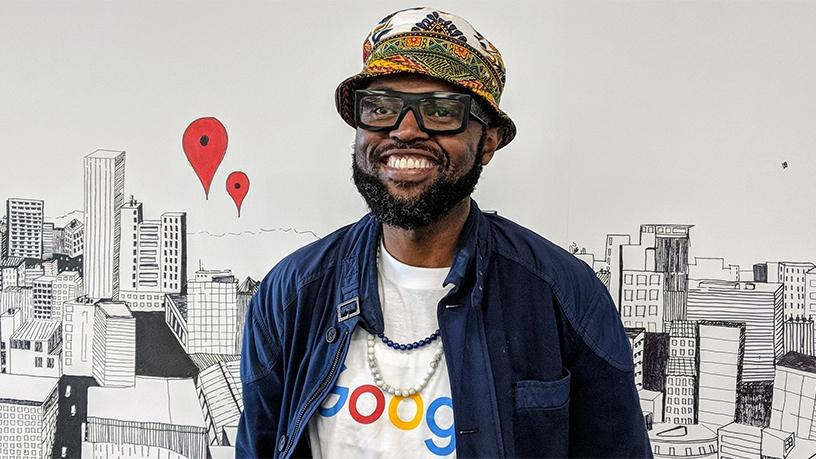 Google's newly appointed chief marketing officer for Sub-Saharan Africa, Mzamo Masito.
