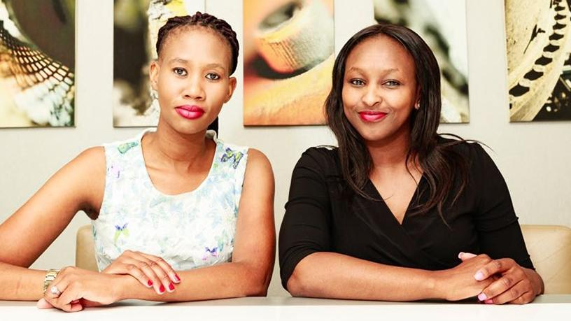 ICT on Heels co-founders Noluvuyo Mpekelana and Mbulelo Sochifa.