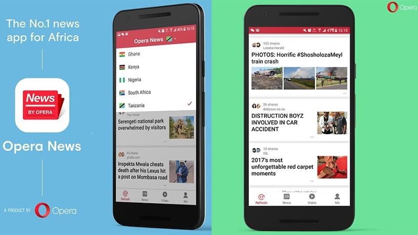Opera News reaches 10 million users in Africa.