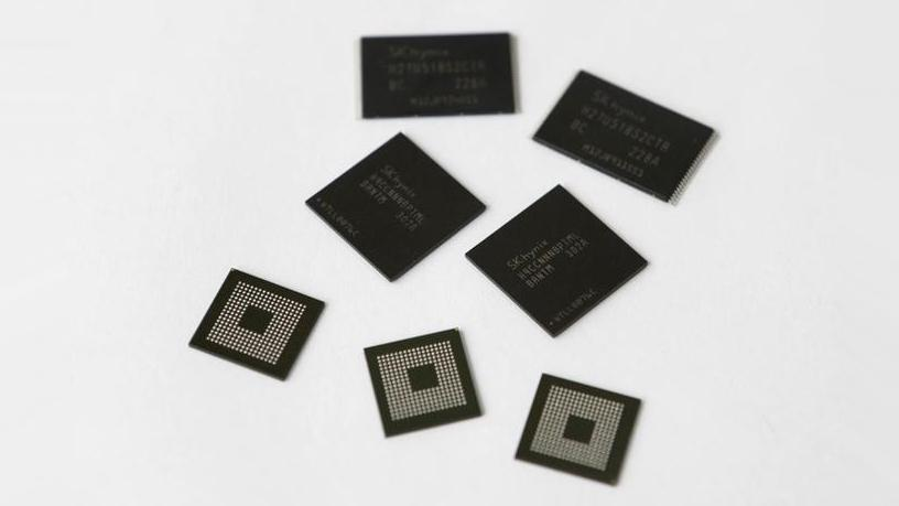 Mobile memory chips made by chipmaker SK Hynix.