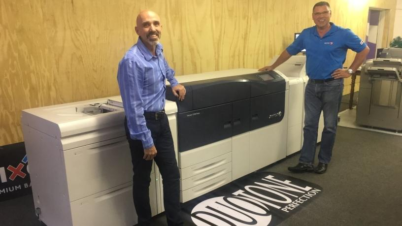 Shaun Schutte, Owner: DuoTone Perfection, and James Carruthers, PSG Account Manager: XBC-IT.