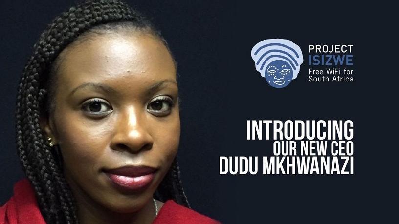 Project Isizwe CEO Duduzile Mkhwanazi.