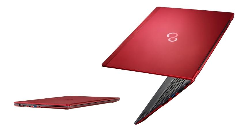 The 13.3-inch (33.8cm) LIFEBOOK U938 is just 15.5mm tall and weighs in at only 920g.