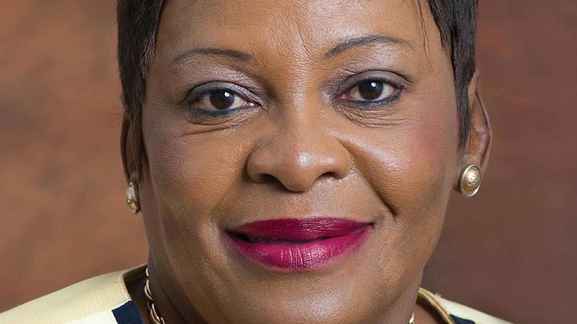 New communications minister Nomvula Makonyane. (Photo source: GCIS)